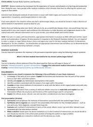 how to write a bioethics paper senior biology extended response tasks
