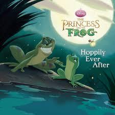 princess frog hoppily disney books