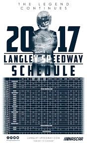 langley speedway va announces season schedule for 2017 reopening