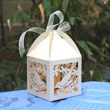Wedding Cake Gift Boxes Design Picture More Detailed Picture About Love Bird Laser Cut