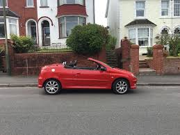 peugeot 208 cabriolet for sale diesel peugeot 206 cc convertible for sale in cardiff gumtree