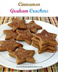 cinnamon graham crackers to be in the kitchen
