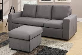 reversible sectional sofas poundex associate bobkona 2 pcs studio mini reversible sectional sofa