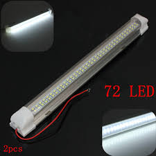 12v led light bar amazon com audew 340mm 12v 4 5w 72 led light bar with on off