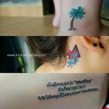 small tattoo kink tattoo bali