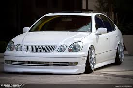 white lexus gs 300 theme tuesdays second generation lexus gs stance is everything