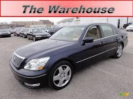 lexus ls430 interior 2005 blue onyx pearl lexus ls 430 sedan 59168398 gtcarlot com