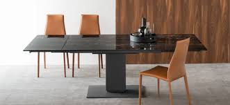 calligaris echo extending table extending table pedestal base echo calligaris cs 4072 r