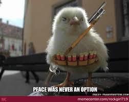 Peace Meme - no peace just revenge by rockgirl719 meme center
