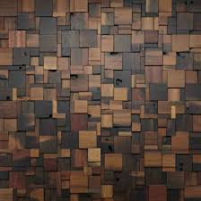 Wood Decorations For Home large wood wall art wood mosaic geometric art by artglamoursligo