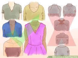 dresses for apple shape 3 easy ways to dress an apple shape wikihow