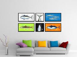 1940 home decor blackfin tuna fish art home decor wall art nautical beach
