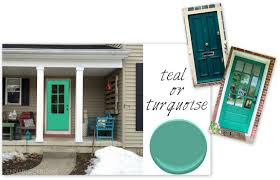Colors For Front Doors Front Door Dilemma Choosing A New Color Jenna Burger