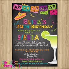 fiesta birthday invitations blueklip com