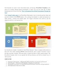 how to creat content marketing plan using powerpoint templates