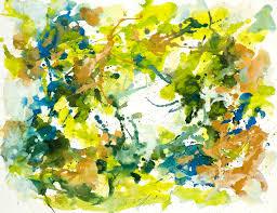Home Decorators Art Vista U0027 Nr G 639 Abstract Colors Watercolor Art Drip Painting