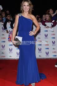 charlotte hawkins royal blue crystal one shoulder prom dress pride