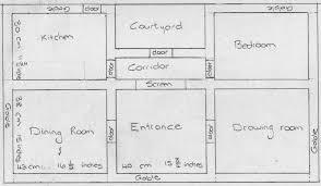 Floor Plan Of The House Elga U0027s Miniatures December 2013