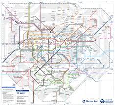 London Maps Rail Map London Zones London Map