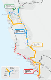 America Map San Francisco by California Train Map California Map