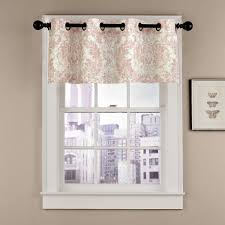 gilligan floral grommet curtain valance products pinterest
