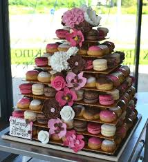 dessert mariage idées originales de dessert de mariage montee macarons choux
