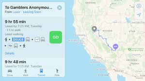 Monorail Las Vegas Map by Apple Maps Gains Public Transit Directions For Las Vegas Reno