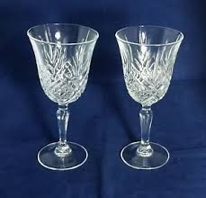 beautiful wine glasses beautiful pair of large french crystal wine glasses ebay
