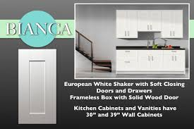 white shaker cabinets in stock kitchen cabinets u0026 bathroom