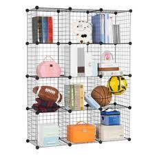 wire bookcases shelving u0026 storage furniture ebay