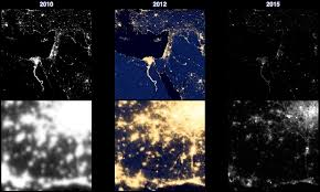 satellite maps 2015 in the sky exploring global light pollution with satellite maps