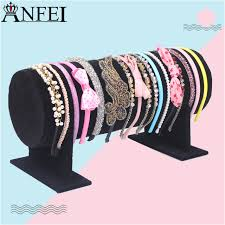 headband holder black hairband stand headband holder jewelry accessory display