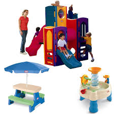 little tikes climbers and slides