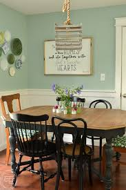 dining room makeover pictures eat in kitchen makeover reveal 100 room challenge refresh living