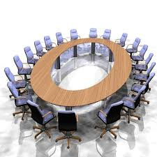 Circle Meeting Table Large Meeting Table Office Furniture