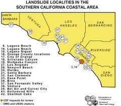california map laguna landslide emergency response 1998 landslide emergency response
