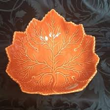 olfaire portugal maple leaf serving large serving bowl fall