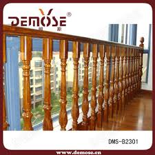 Wooden Banister Handmade Solid Wooden Balcony Railing Outside Buy Balcony Stairs
