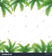 set seamless patterns green branches leaves stock vector 129952199