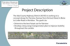 What Is Concept by Ada County Highway District
