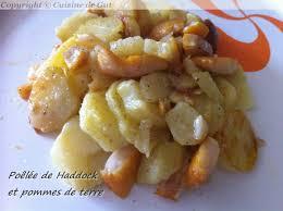 cuisiner haddock poêlée de haddock aux pommes de terre cuisine de gut