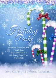 bella luella christmas and holiday party invitations