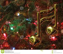 music note christmas ornament royalty free stock photo image