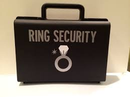 ring security wedding ring security briefcase ring bearer gift ring security
