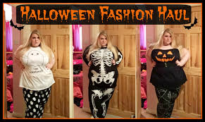 halloween fashion haul u0026 try on plus size fashion youtube