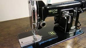 necchi bu nova 1953 sewing demonstration u0026 overview youtube