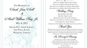 memorial program wording 18 best photo of wedding program thank you wording ideas diy