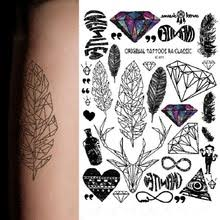 buy rainbow tattoo and get free shipping on aliexpress com