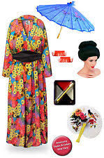 4x Costumes Halloween Size Geisha Costume Ebay