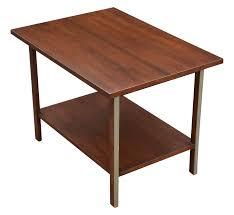paul mccobb calvin walnut end table chairish